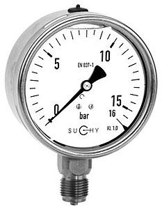 Jual Pressure gauge suchy